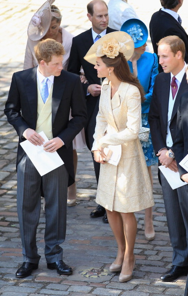 Герцогиня  Кембриджская Кэтрин на свадьбе внучки королевы Елизаветы II Зары Филиппс. Фото: Chris Jackson PT /Jeff J Mitchell/Getty Images