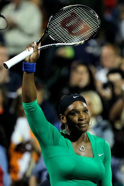 Мария Шарапова проиграла четвертьфинал в Стэнфорде американке Серене Уильямс. Фото: Matthew Stockman/Getty Images