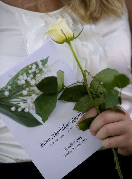 Норвегия хоронит жертв терактов Андерса  Брейвика. Фото: ODD ANDERSEN/AFP/Getty Images
