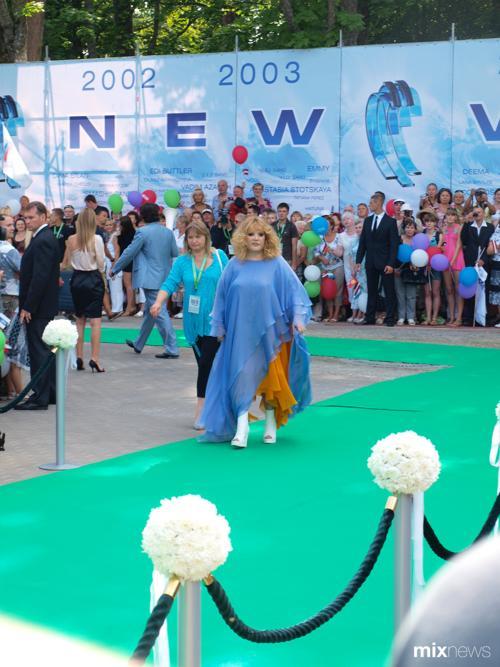 «Новая Волна»: Алла Пугачева на открытие международного конкурса «Новая волна» в концертном зале «Дзинтари». Фото с сайта mixnews.lv