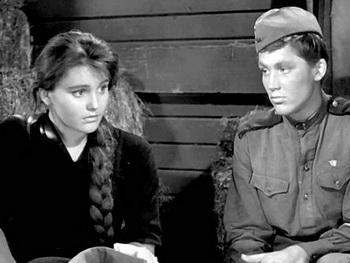 Жанна Прохоренко   - звезда  «Баллады о солдате» . Фото:  kinopoisk.ru