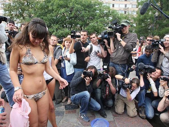 Фоторепортаж  с московской акции «против пива, как алкоголя». Фото с сайта ridus-news