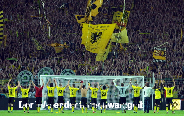 «Боруссия Дортмунд» -  «Гамбург» - 3:1. Фоторепортаж с матча. Фото: Lars Baron/Bongarts/Getty Images