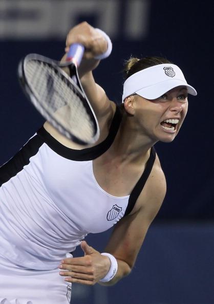 Российская теннисистка Вера Звонарева вышла в финал турнира Mercury Insurance Open. Фото: Jeff Gross/Getty Images