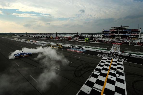 Фоторепортаж авторалли  Good Sam RV на гоночной трассе Pocono. Фото: Tom Pennington/Getty Images for NASCAR
