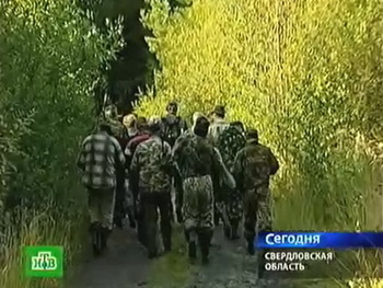Пропавшая трехлетняя девочка Вика в Свердловской области заблудилась в лесу, где и была найдена. Фото с сайта  ntv.ru