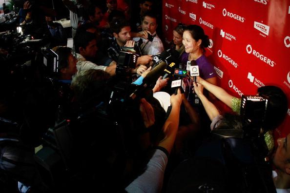 Звезды тенниса встретились с журналистами и поклонниками  на турнире Rogers Cup в Торонто. Фото: Chris Trotman/Getty Images