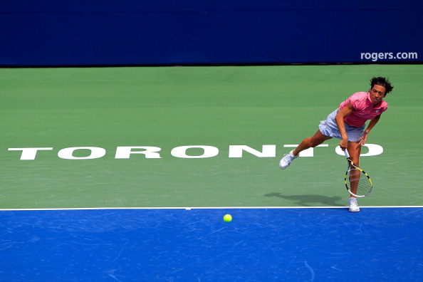 Екатерина Макарова проиграла Франческе Скьявоне матч второго круга турнира Rogers Cup в Торонто. Фото: Chris Trotman/Getty Images
