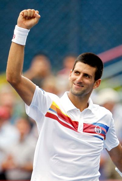 Новаку Джокович выиграл у Николая Давыденко матч второго круга турнира Rogers Cup в Монреале. Фото: Matthew Stockman/Getty Images