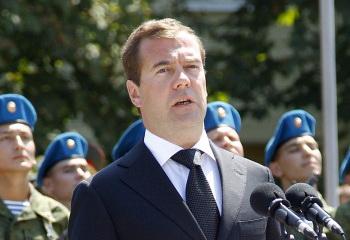 Медведев ввел санкции против Ливии в соответствии с резолюцией Совета Безопасности ООН. Фото: VLADIMIR RODIONOV/AFP/Getty Images