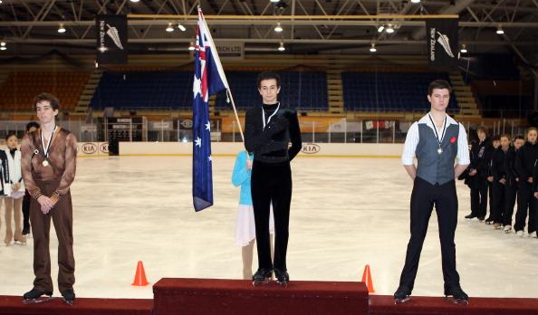 Фигурное катание на Зимних играх в Новой Зеландии. Фото: Rob Jefferies/Getty Images