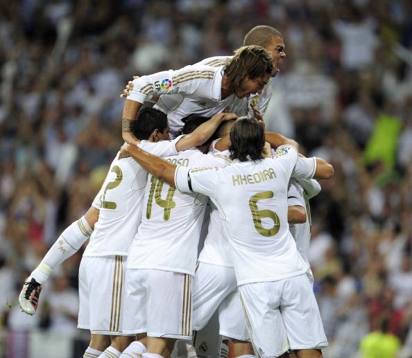 В Суперкубке Испании «Барселона» сыграла вничью с «Реал Мадридом»,2:2. Фоторепортаж с матча. Фото: Denis Doyle/Getty Images
