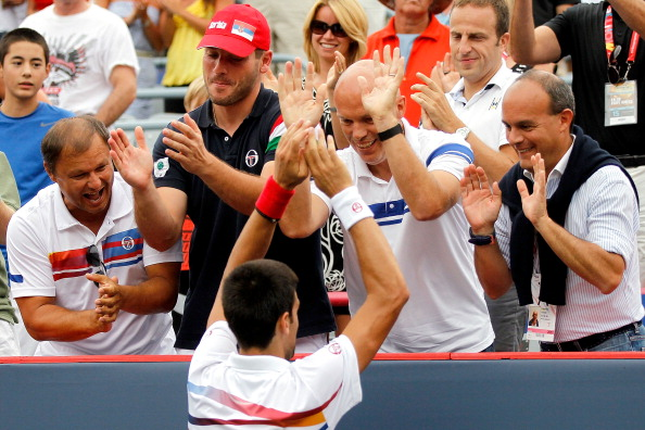 Новак Джокович выиграл турнир Rogers Cup в Монреале. Фото: Matthew Stockman/Getty Images