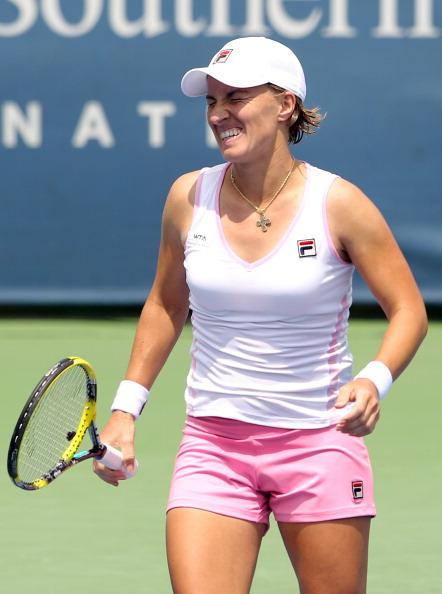 Светлана Кузнецова  вышла во второй круг чемпионата Southern Open в  Цинциннати. Фото: Elsa/Getty Images