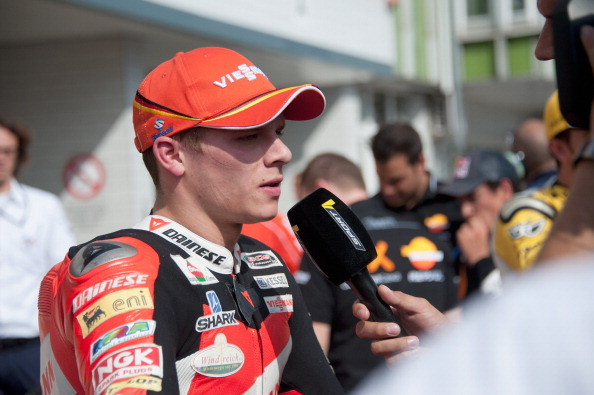Фоторепортаж с отборочной практики мотогонщиков в  Брно. Фото: Mirco Lazzari gp/Getty Images