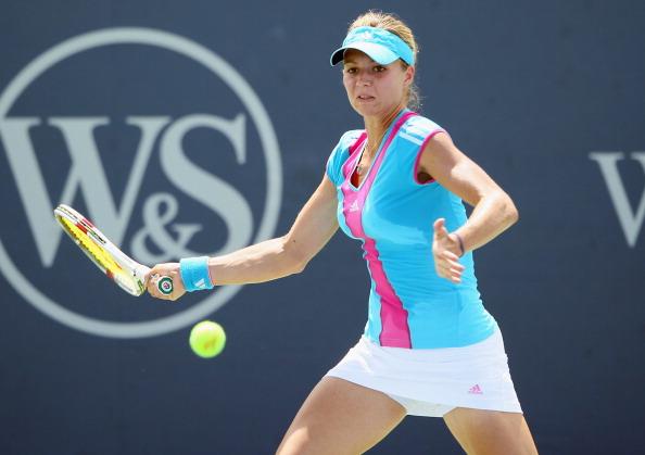 Мария Кириленко вышла во второй круг турнира Western & Southern Open в Цинциннати. Фото: Elsa/Getty Images