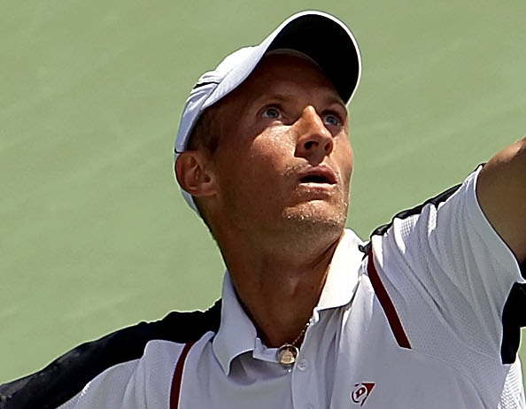 Николай Давыденко вышел во второй круг турнира Western & Southern Open в Цинциннати. Фото:  Matthew Stockman/Getty Images