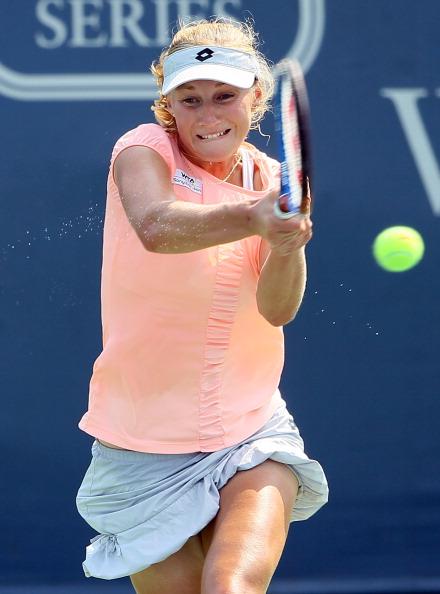 Вера Звонарева вышла в третий  круг турнира Western & Southern Open в Цинциннати. Фото: Elsa/Getty Images