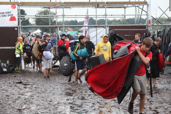 На рок-фестивале Pukkepop в Бельгии погибли  5 человек, боле 40 пострадали. Фото: Harry Heuts/AFP/Getty Images