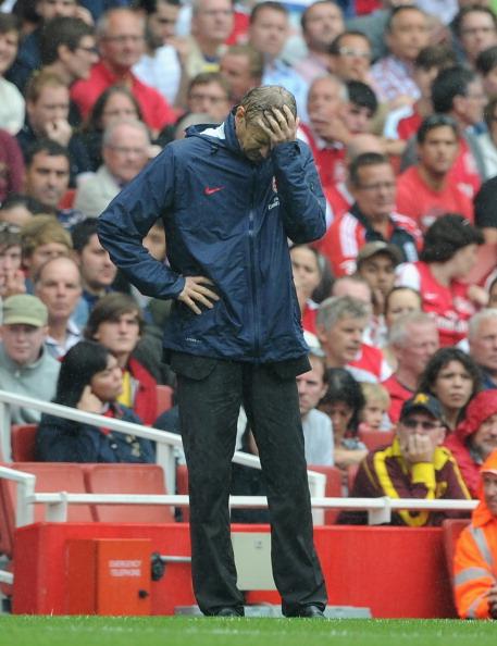 «Арсенал»  проиграл «Ливерпулю», 2:0. Фоторепортаж  с матча  Фото: Michael Regan/Getty Images