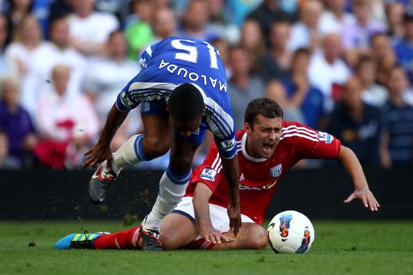 «Челси» победил «Вест Бромвич» со счетом 2:1. Фоторепортаж с матча. Фото: Laurence Griffiths/Getty Images