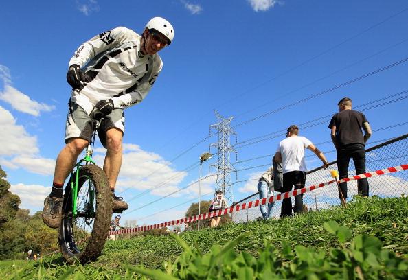 Фоторепортаж с велокросса на велодроме «Санкт-Харрисон» в Австралии. Фото: Hamish Blair/Getty Images
