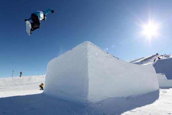 Фоторепортаж с соревнований по сноуборду Slopestyle на  Зимних играх в Новой Зеландии. Фото: Camilla Stoddart/Getty Images