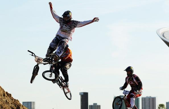 Лондон-2012.  Фоторепортаж c велокросса UCI BMX Supercross Кубка мира. Фото: Bryn Lennon/Getty Images