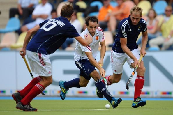 Мужская сборная  Англии по хоккею на траве разгромила команду Франции - 8:1. Фоторепортаж с матча. Фото:  Dennis Grombkowski/Bongarts/Getty Images