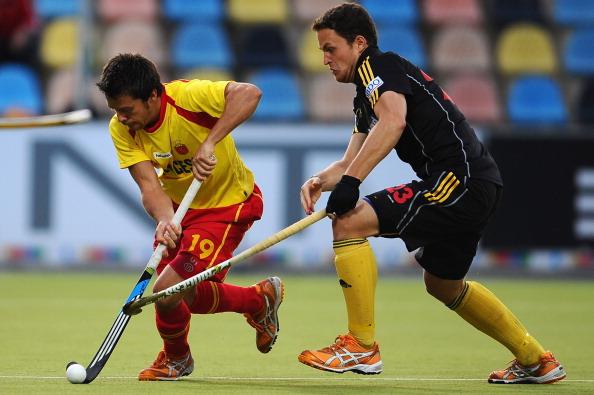 Мужская сборная Бельгия по хоккею на траве выиграла у сборной Испании – 3:2. Фоторепортаж с матча. Фото:  Dennis Grombkowski/Bongarts/Getty Images