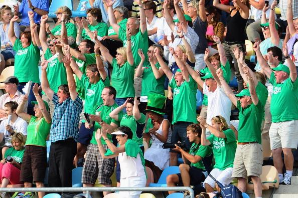 Хоккей на траве. Фоторепортаж  с матча: мужская сборная Нидерландов - сборная Ирландии,  7:4. Фото: Dennis Grombkowski/Bongarts/Getty Images