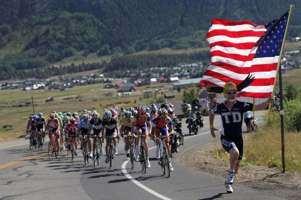 Фоторепортаж с велогонки USA Pro Cycling Challenge в Крестел-Буттле. Фото: Doug Pensinger/Getty Images