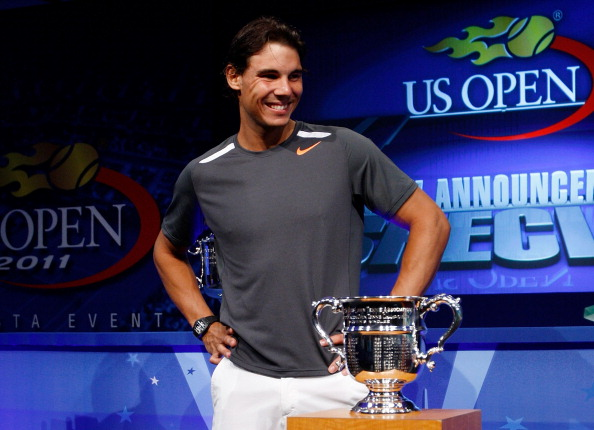 Жеребьевка US  Open-2011. Фоторепортаж с теннисного центра  Billie Jean King National. Фото: Wickerham/Getty Images for USTA