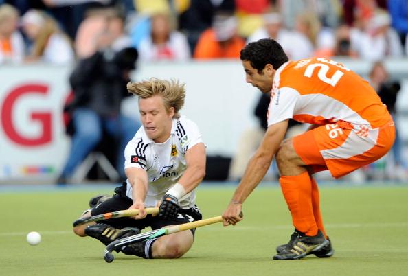 Мужская сборная  Германии по хоккею на траве выиграла финал у  команды Нидерландов. Фоторепортаж  с  матча.  Фото: Thorsten Wagner/Bongarts/Getty Images