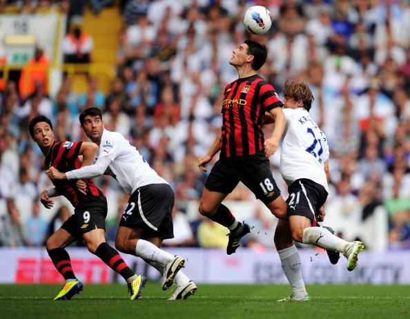«Манчестер Сити» разгромил «Тоттенхем»   со счетом 5:1. Фоторепортаж с матча. Фото: Michael Regan/Getty Images