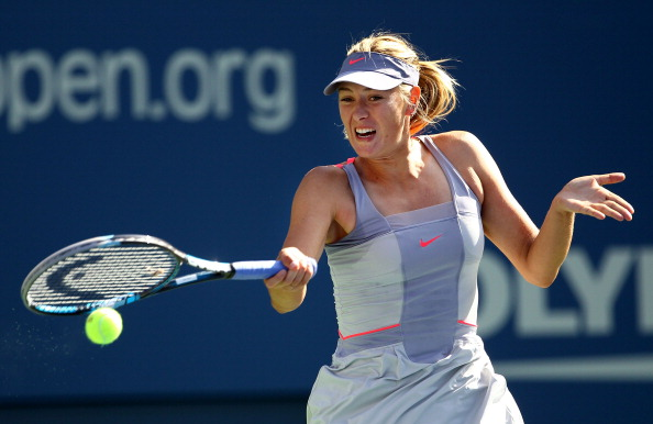 Мария Шарапова вышла во второй круг турнира US Open-2011 в Нью-Йорке. Фото: Patrick McDermott/Getty Images