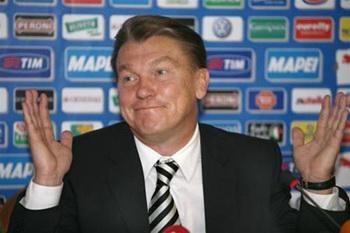 Блохин главный тренер сборной Украины готов вернуться на прежнее место. Фото с сайта: sport.oboz.u