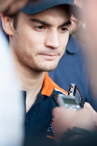 Дани Педроса (Dani Pedrosa). Фоторепортаж с трека Сепанг. Фото: Mirco Lazzari gp/Getty Images