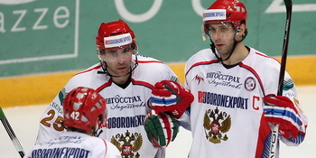 Cборная России  выиграла Еврохоккейтур-2010/2011. Фото с сайта Федерации хоккея России