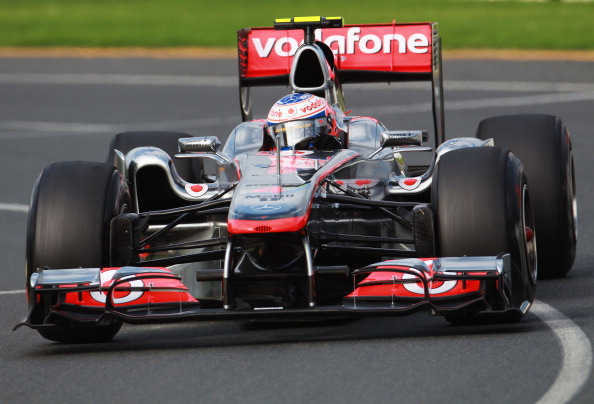 Формула-1. Гран-при Австралии: Петров - двенадцатый, лидирует Баттон. Дженсон Батон. Фото:  Clive Mason/Paul Gilham/Mark Thompson/Getty Images