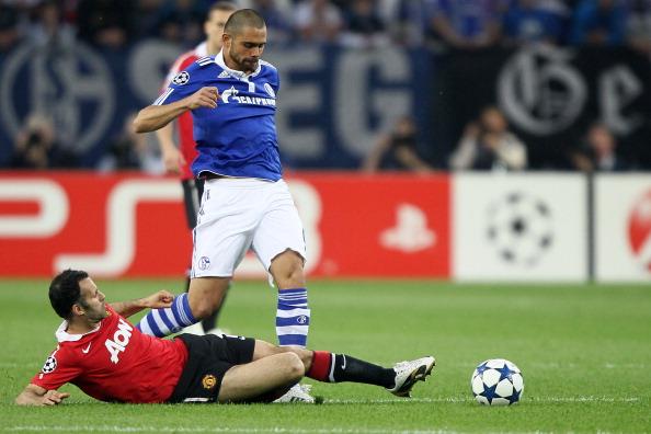 «Манчестер Юнайтед» - «Шальке-04». 0:2.  Голы забили Руни и  Гиггз. Фото: Lars Baron/Christof Koepsel/Jamie McDonald/PATRIK STOLLARZ/AFP/Getty Images