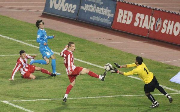 Путин в Сербии смотрел матч «Зенита» с «Црвеной Звездой», встретился с байкерами и получил орден Святого Саввы. Фото с сайта  fc-zenit.ru