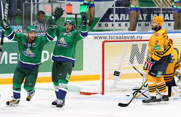 Кубок Гагарина достался уфмскому хоккейному клубу