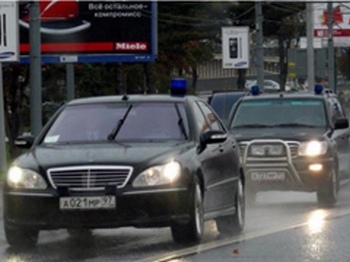Кортеж генпрокурора Юрия Чайки протаранила спортивная Audi TT. Фото с сайта finamauto.ru/news
