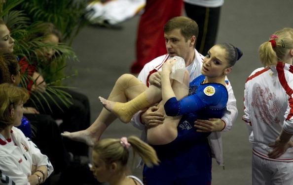 Алия Мустафина. Фоторепортаж. Фото: JOERN POLLEX, JOHN MACDOUGALL/Bongarts/Getty Images