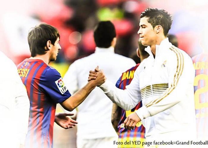 Лео Месси и Кристиано Рональдо. Фото: Cules de FC Barcelona