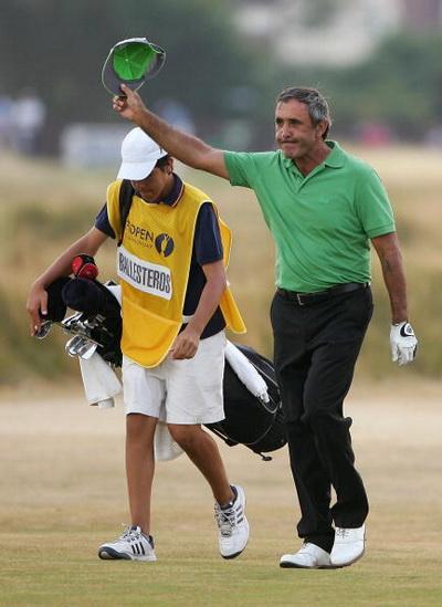 Фоторепортаж. Легенда гольфа - Севе Бальестероса. Фото: Stuart Franklin/Getty Images