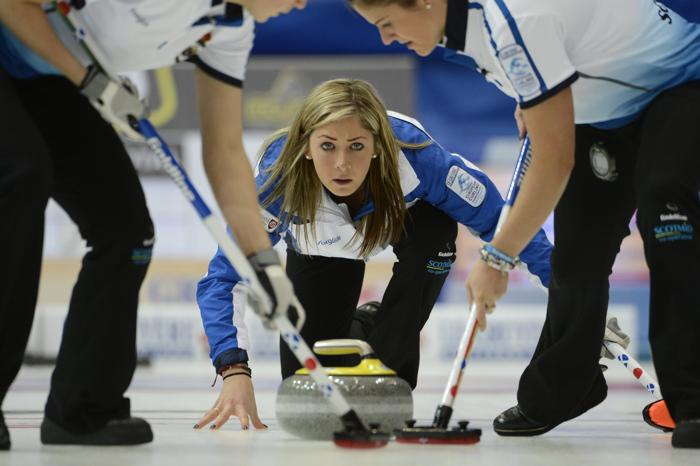 Ева Муирхед (Шотландия) во время финального матча Россия – Шотландия 15 декабря 2012 года. Фото: JANERIK HENRIKSSON / SCANPIX/AFP/Getty Images