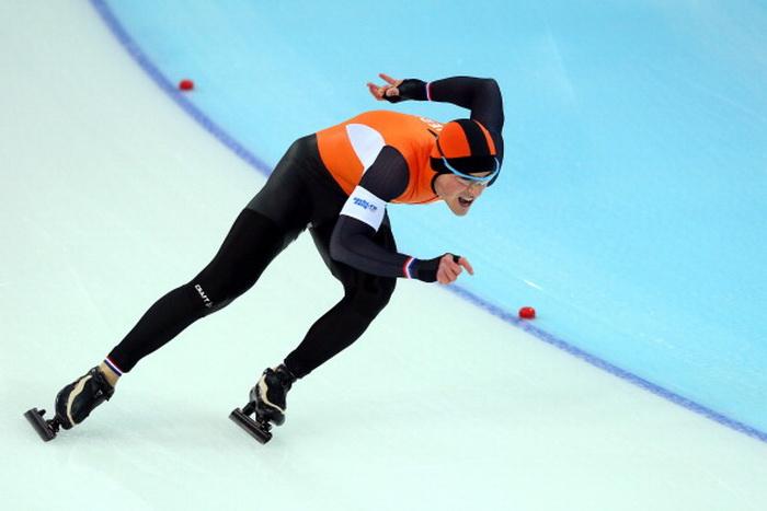 Голландский конькобежец Ян Смеекенс. Фото: Paul Gilham/Getty Images