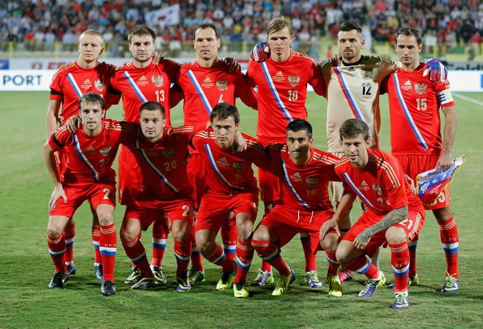 Сборная России по футболу. Фото: Francois Nel/Getty Images